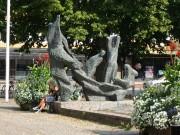 Havsgrupp, Södermalmstorg i Gävle.