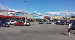 Valbo Köpcentrum i Gävle